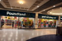 Poundland in the Wellgate Centre, Dundee.