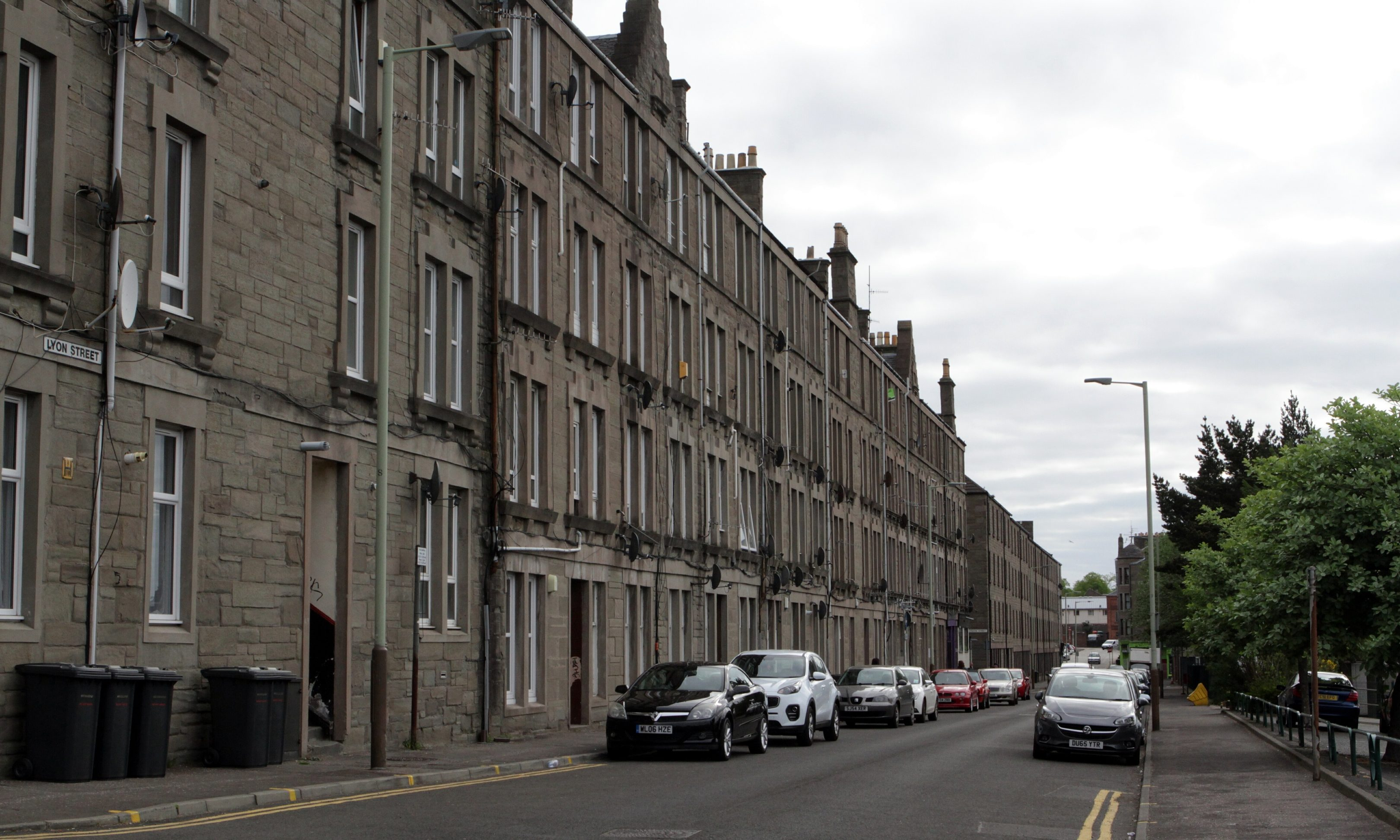 Lyon Street, Dundee. (Stock image).