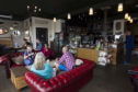 The Menopause Cafe held at Blend Coffee shop where they can talk and support each other with Menopause issues.