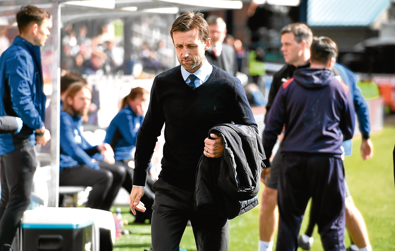 Dundee boss Neil McCann