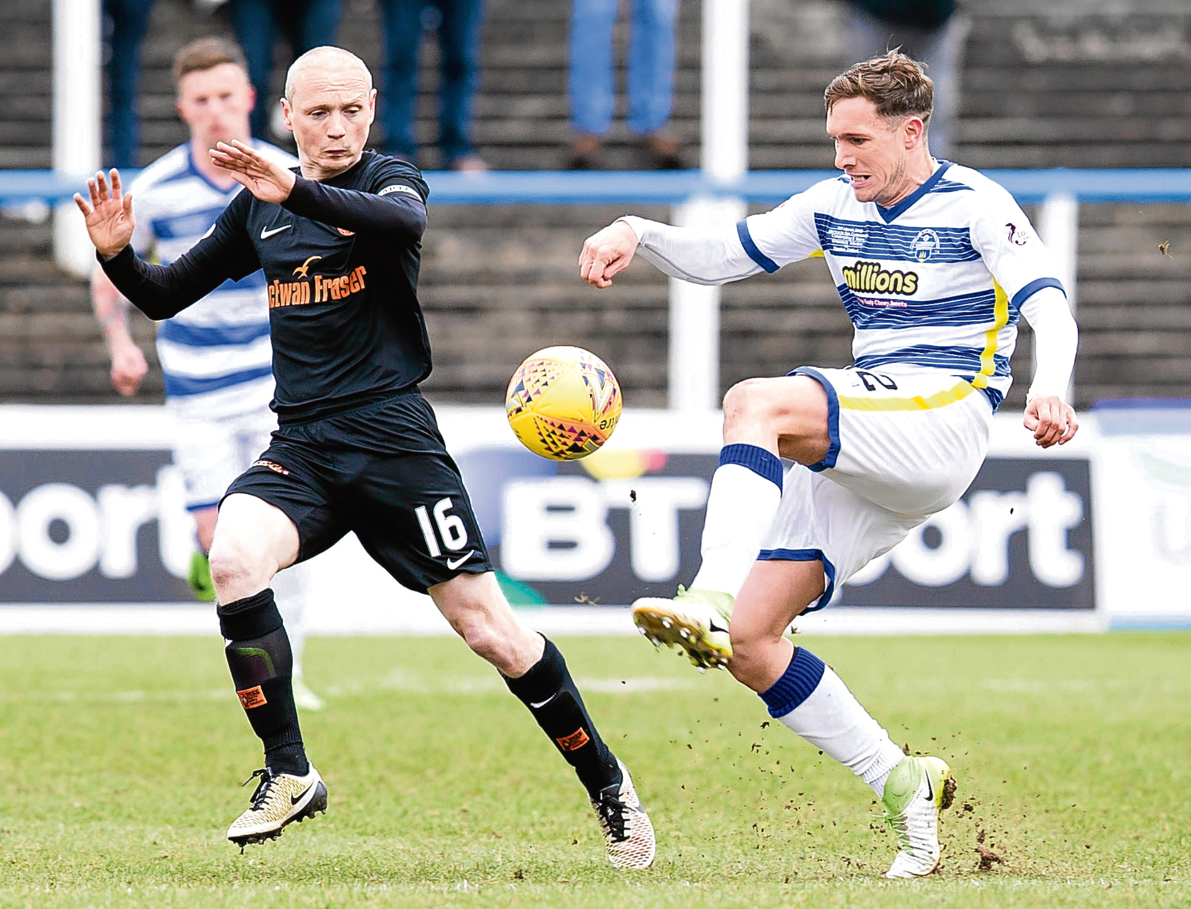 Dundee United captain Willo Flood thought they'd done enough to beat Morton at Cappielow last Saturday but was pleased with their response in victory over Dumbarton on Tuesday.