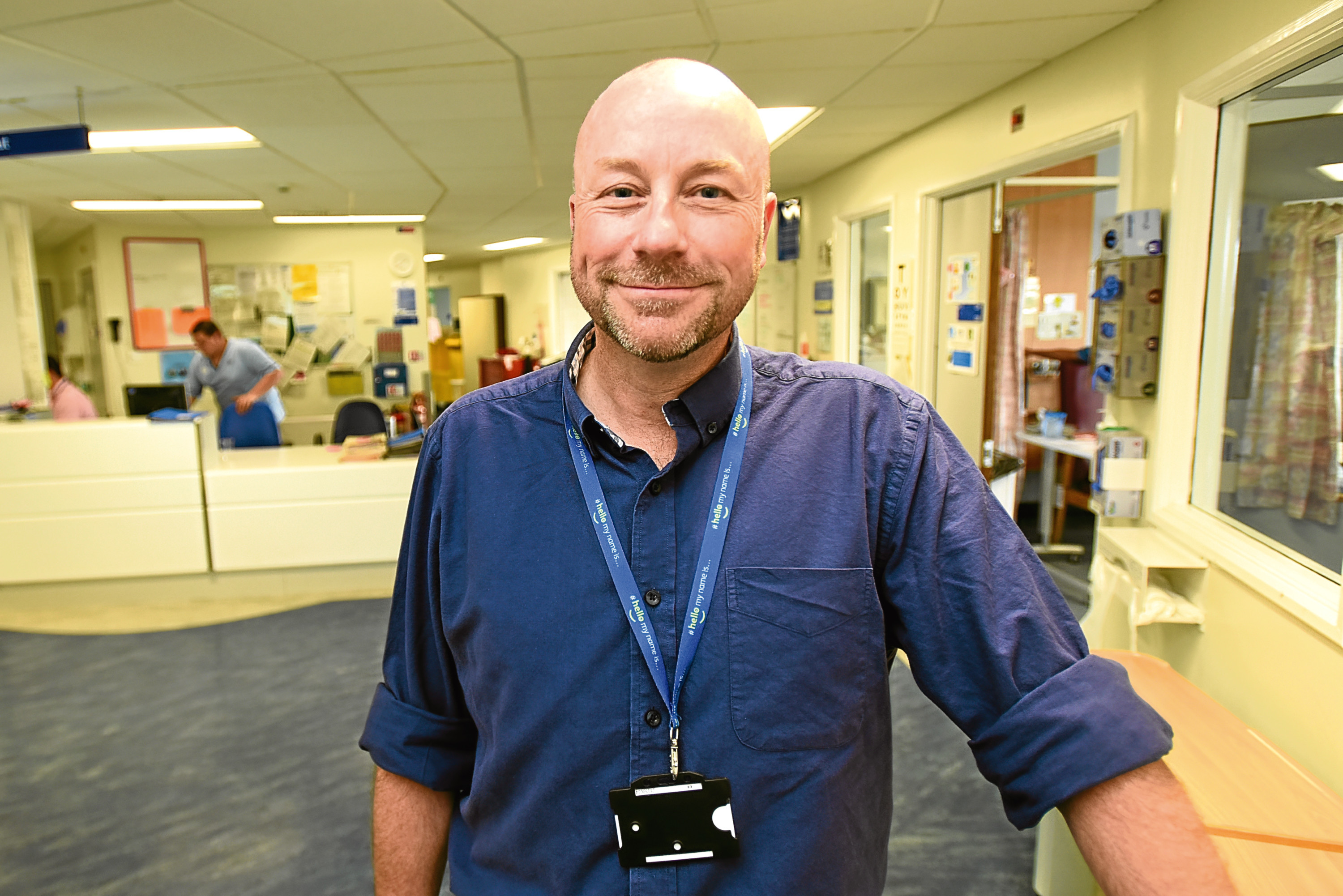 George Doherty, director of workforce at NHS Tayside