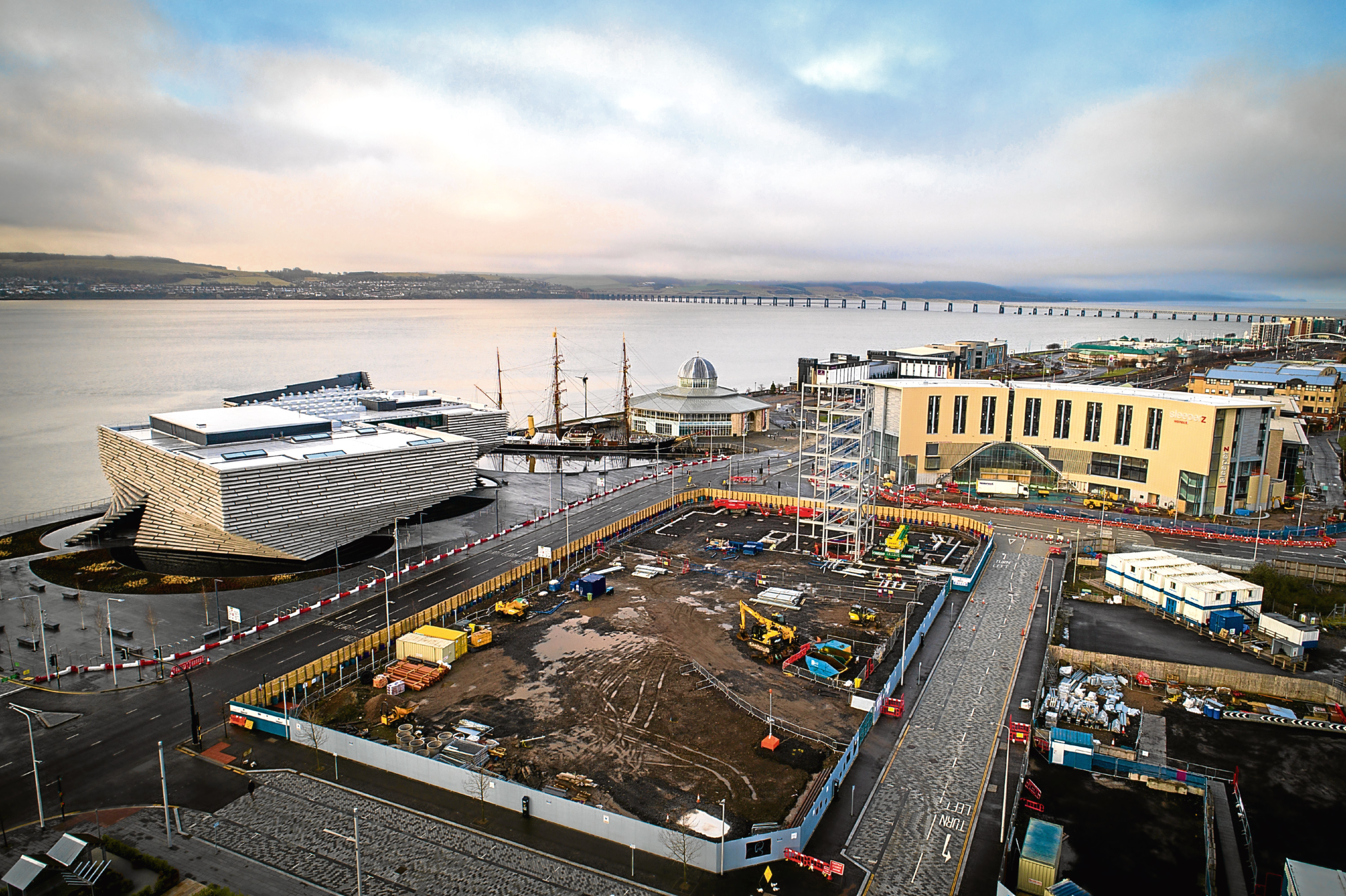 New images show the extent of the latest development at Dundee Waterfront