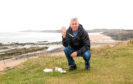 Councillor Brian Boyd is calling for people to 'pick 3 for the sea'.