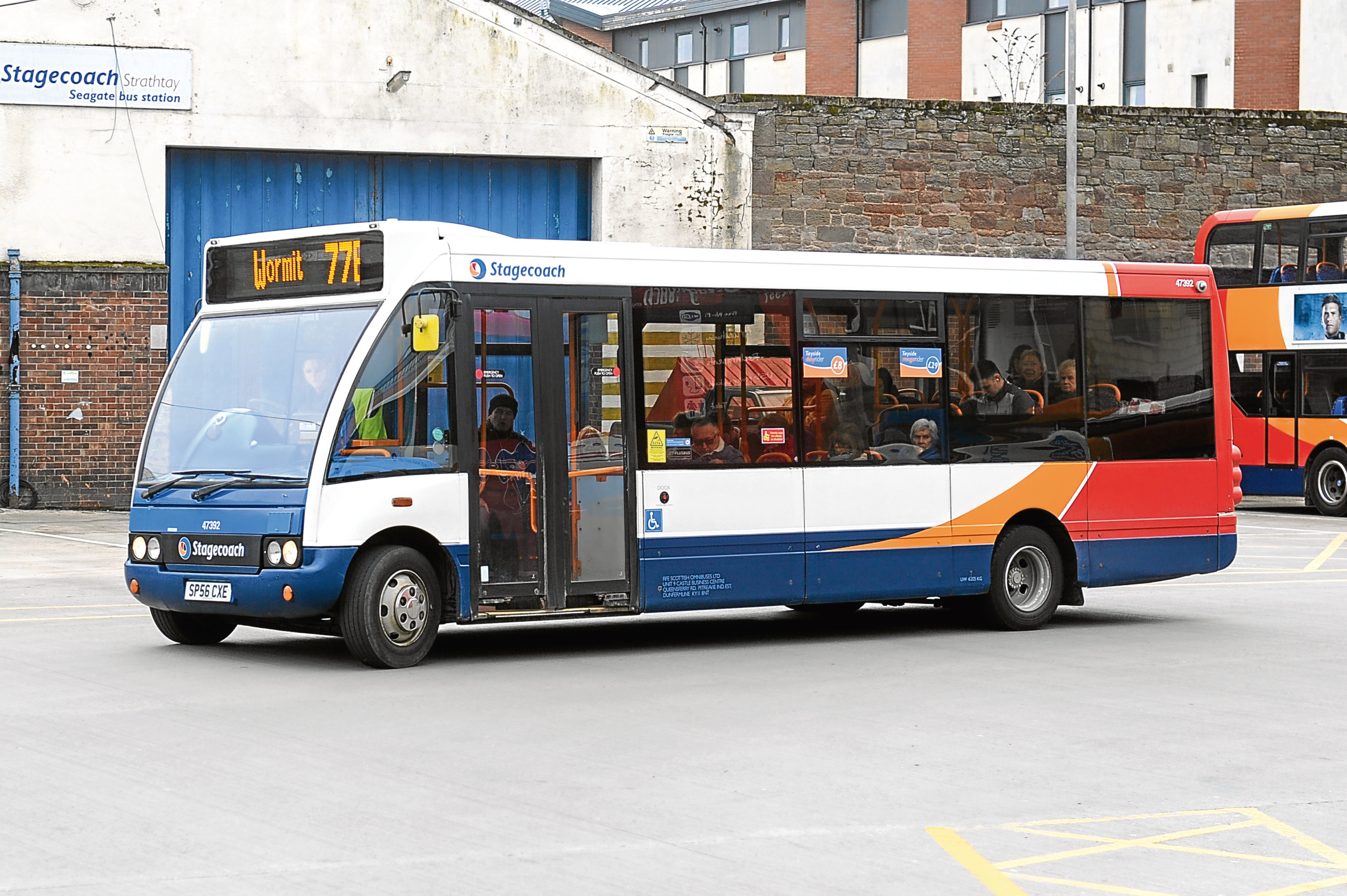 The 77B service, which runs from Dundee to Wormit, was set to be cancelled following a review of services by Stagecoach.