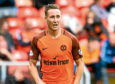 Dundee United midfielder Jordie Briels.