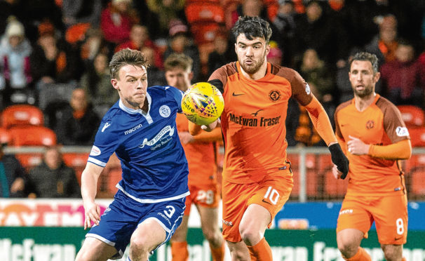 Former Dundee United midfielder Scott Fraser (right) is a free agent.