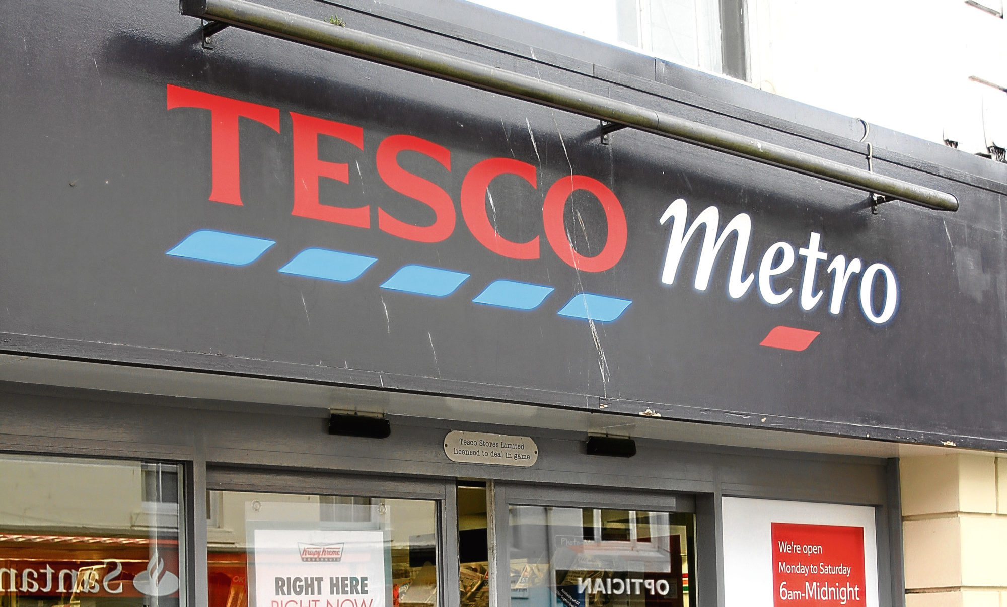 Tesco in Market Street, St Andrews