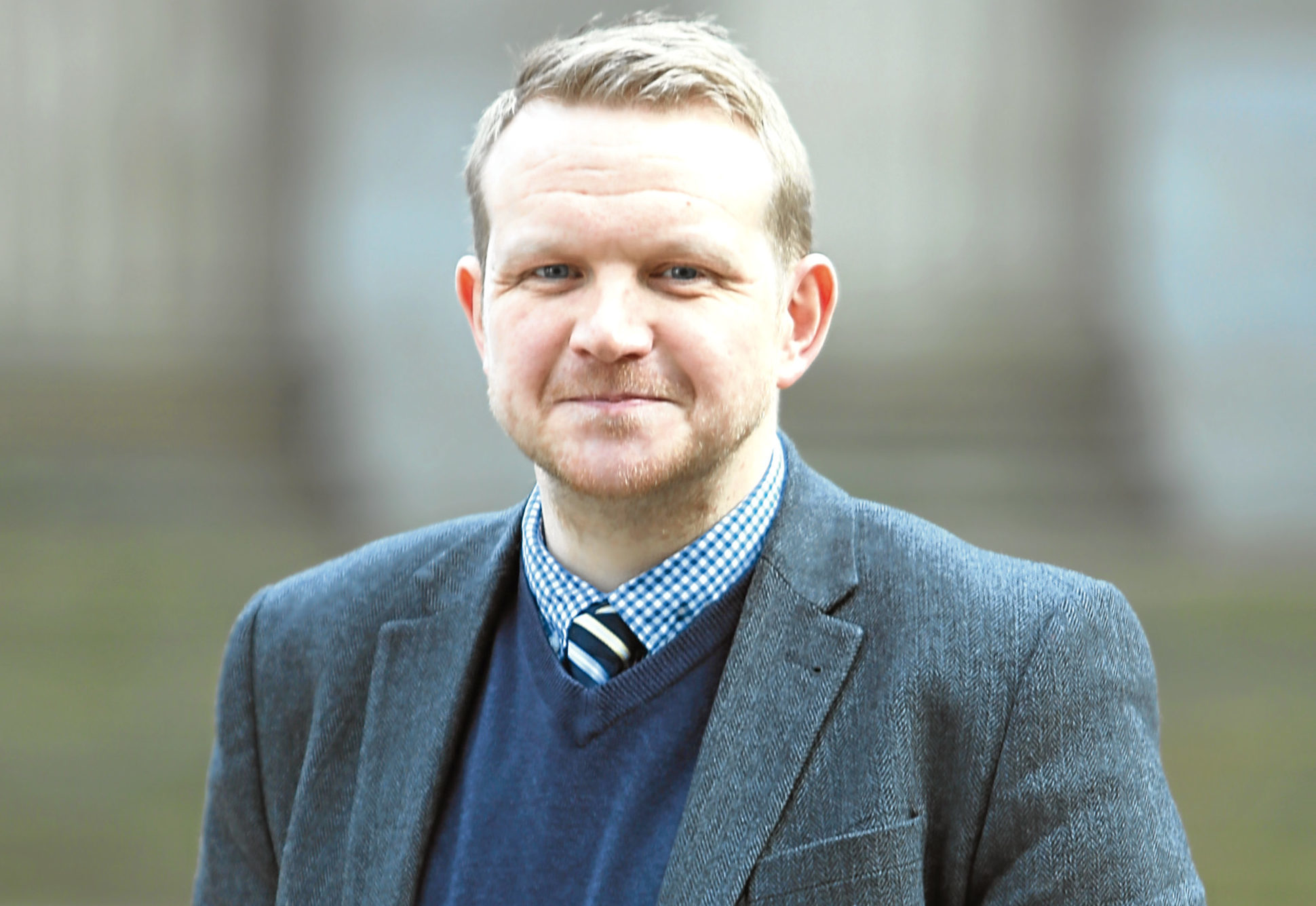 Dundee City Council community safety and public protection convener Councillor Alan Ross
