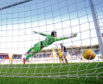 Sofien Moussa buried a towering header beyond St Johnstone keeper Zander Clark to win the game 2-1 the last time the sides met.