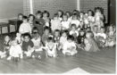 Back in the Day - Saturday 21/04/18 The children of Meadowside St Paul's Church playgroup held a teddy bears' picnic in the church hall.  Photo taken 28/6/1989. Featured in C&A 29/6/1989. B88 1989-06-28 Meadowside St Paul's Church playgroup (C)DCT