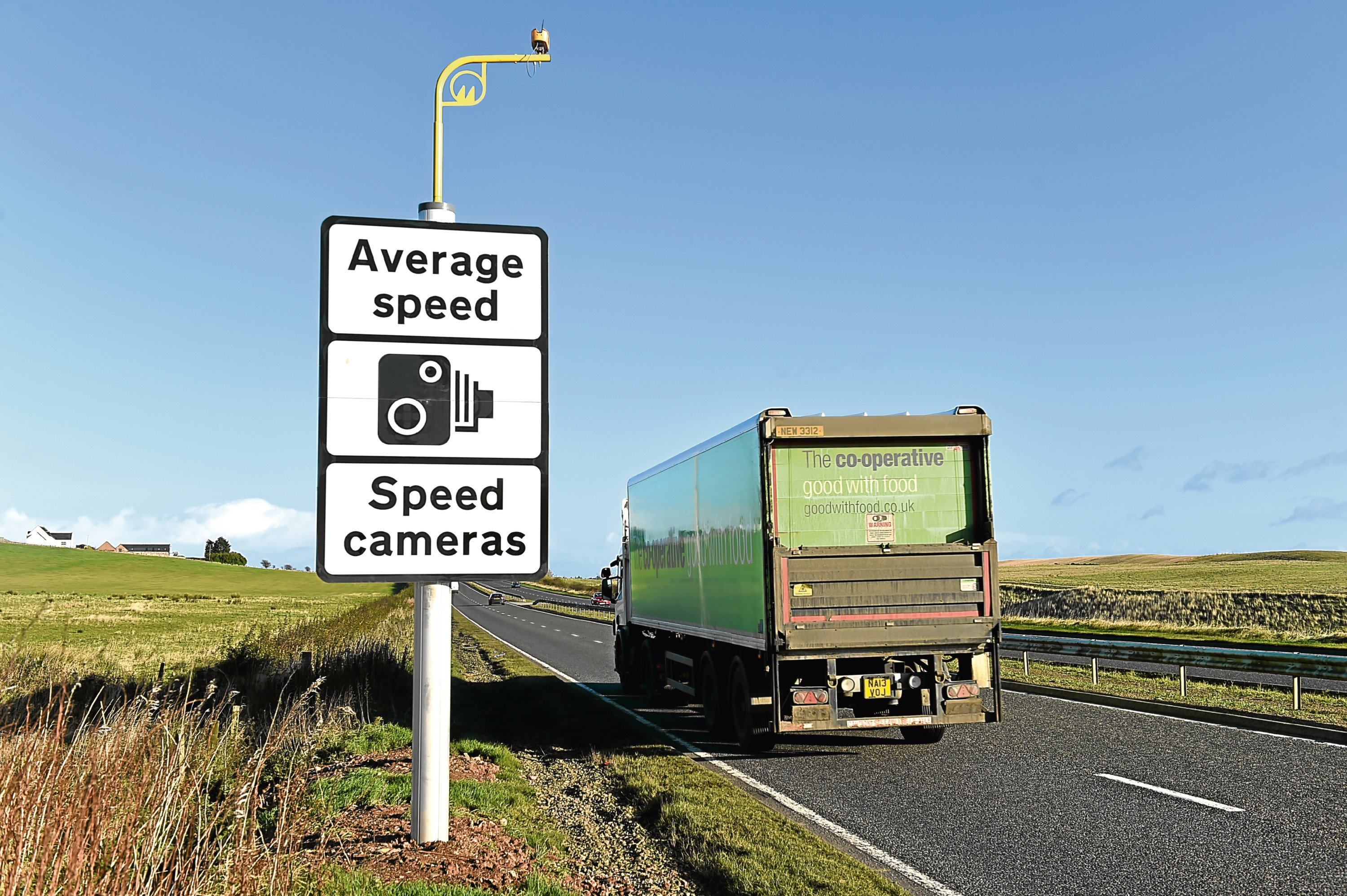 Average speed cameras are catching more speeders on the A90.