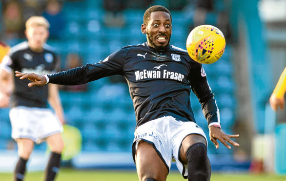 Dundee attacker Roarie Deacon missed the win over St Johnstone due to an injury and faces a fitness check before the trip to Motherwell.