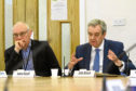 Left, Professor Andrew Russell, deputy chief executive and right, John Brown.