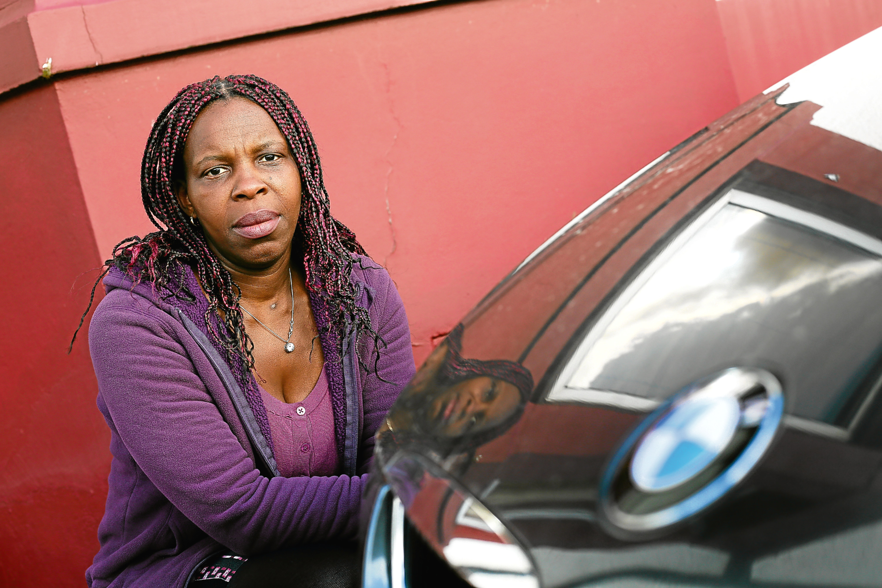 Cynthia Rotibi was approached after putting her car up for sale on Gumtree.
