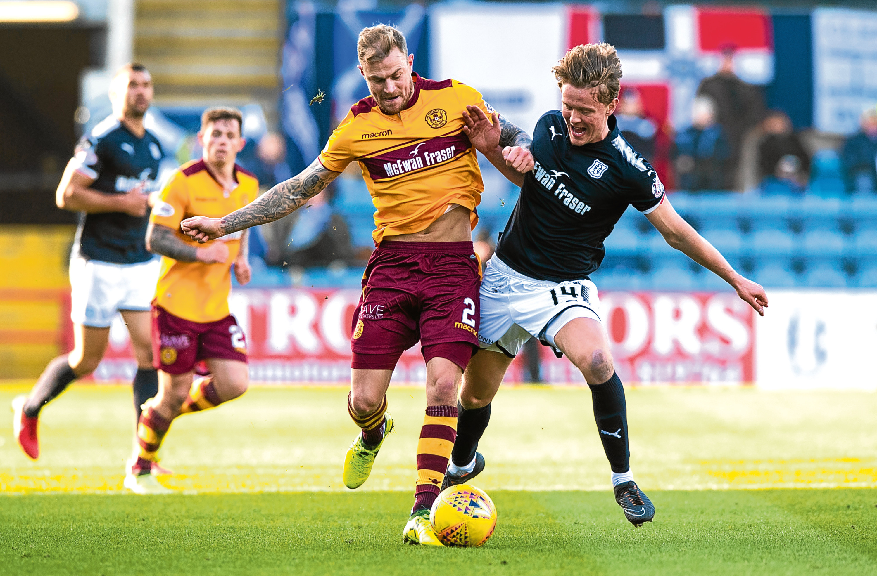 Dundee's versatile midfielder Mark O'Hara knows everyone will have to be at 100% if the Dark Blues are going to pick up what would be a vital three points at Motherwell tomorrow.