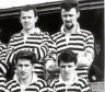 Alec Sharp (back, right) in his Downfield JFC days with Dave Wilkie (back), John Reilly (front left) and Bruce Reid