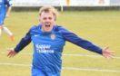 Lochee United goal hero Connor Birse