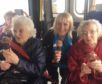 Residents from Balhousie Moyness care home in Broughty Ferry enjoy a day out in Anstruther