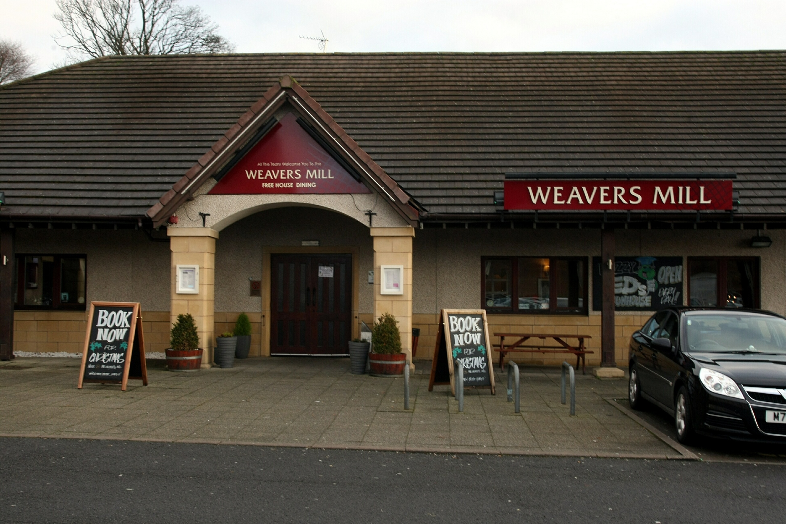 The entrance to Weavers Mill at the Camperdown Leisure Park