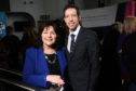 Social Security Minister Jeane Freeman with Dundee council leader John Alexander