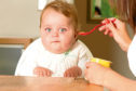 A child under the age of one has been classed as obese.