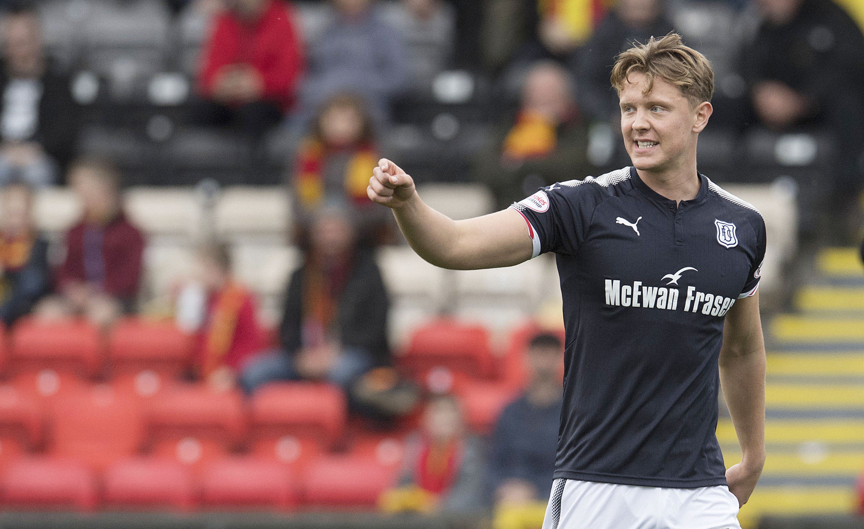 Dundee midfielder Mark O'Hara is one of a number of first-team players with contracts coming to an end this summer.