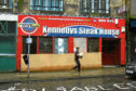 The empty Kennedy's Steak House restaurant in Castle Street, Dundee