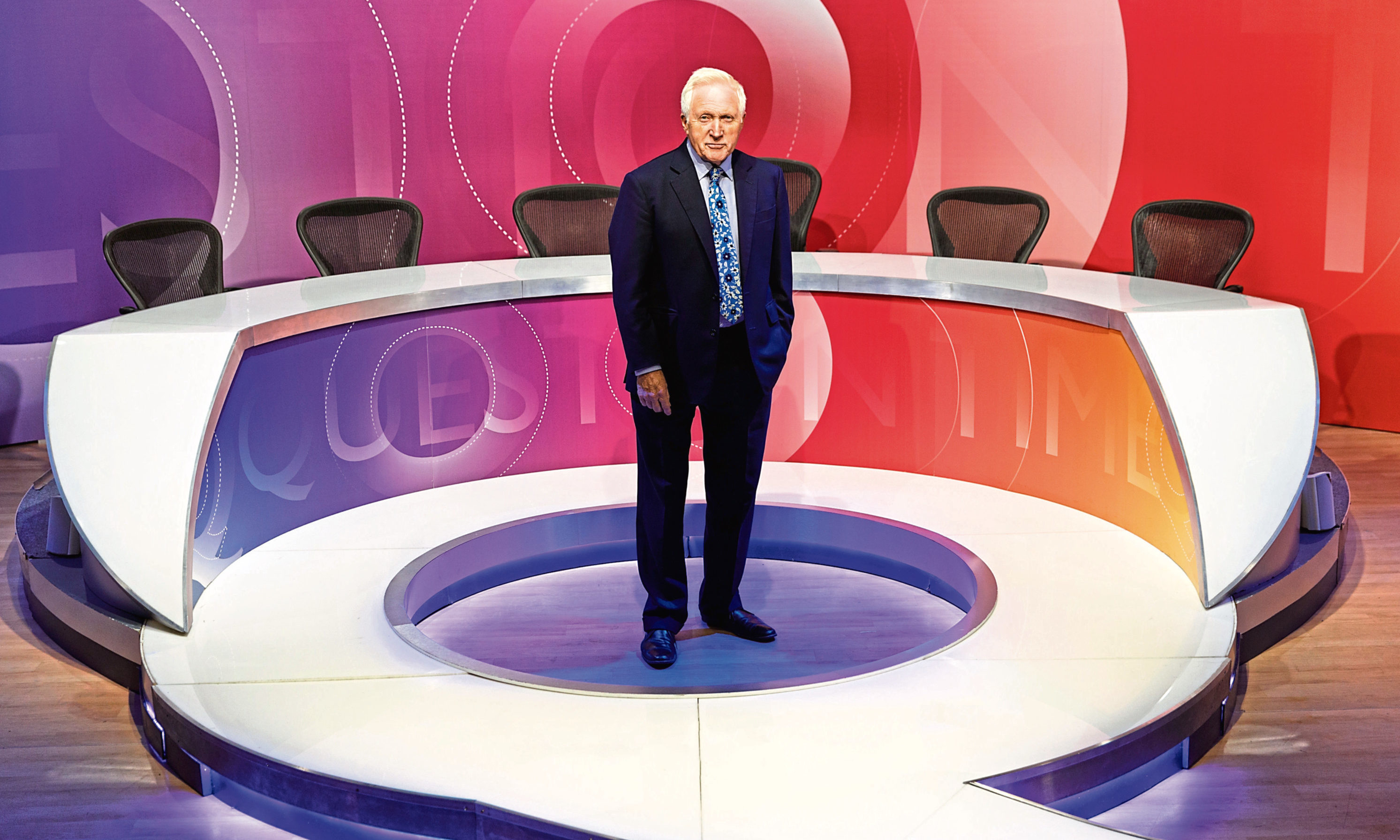 David Dimbleby, host of BBC's Question Time