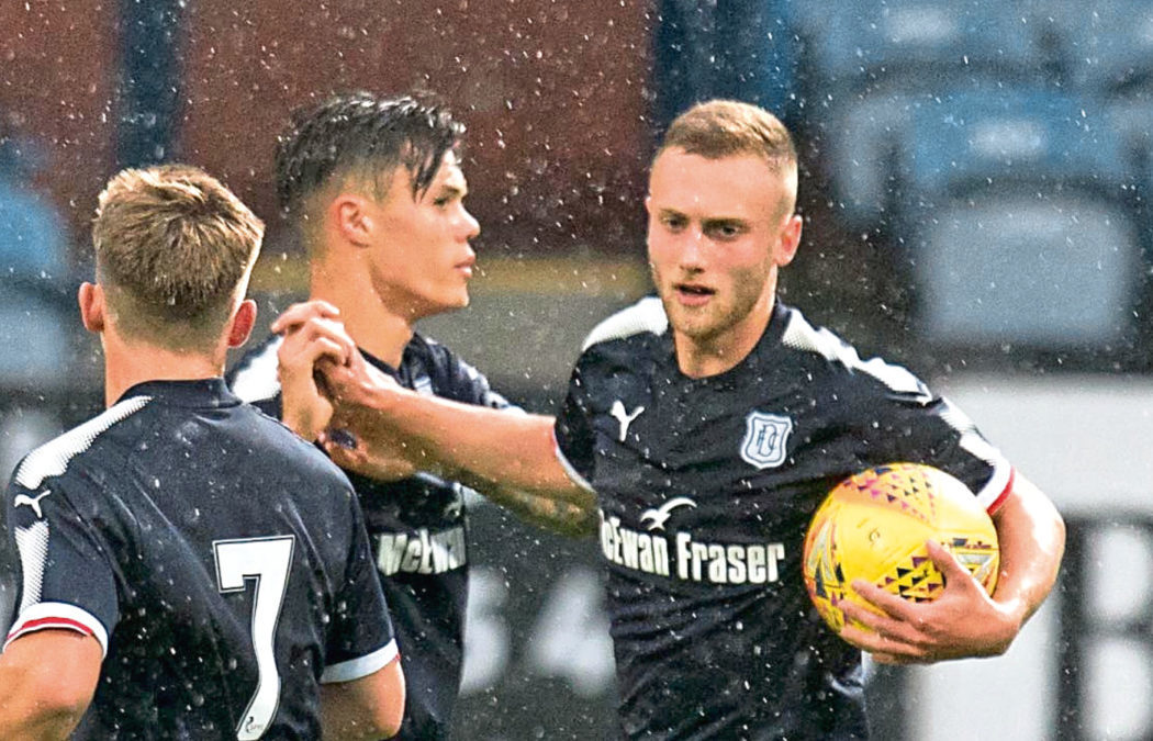 Jesse Curran and Matty Henvey (right) have starred for Dundee's Development side this season.