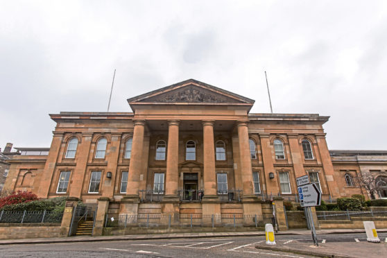 Adrian Kambir appeared at Dundee Sheriff Court