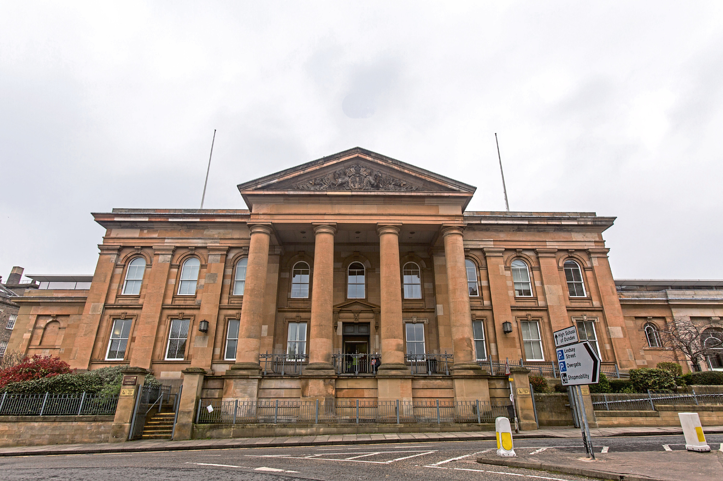 The man appeared at Dundee Sheriff Court