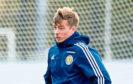 Craig Wighton has met up with his Scotland team-mates.