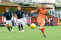 Dundee United striker James Keatings missed a big part of last season due to injury.