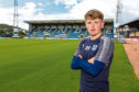 Midfielder Lewis Spence is hoping to improve on his debut season at Dens Park.