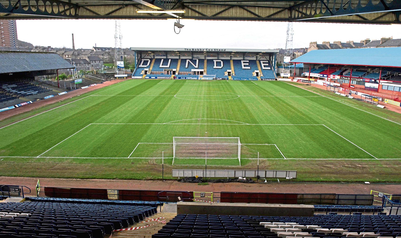 Dens Park is now the Kilmac Stadium at Dens Park