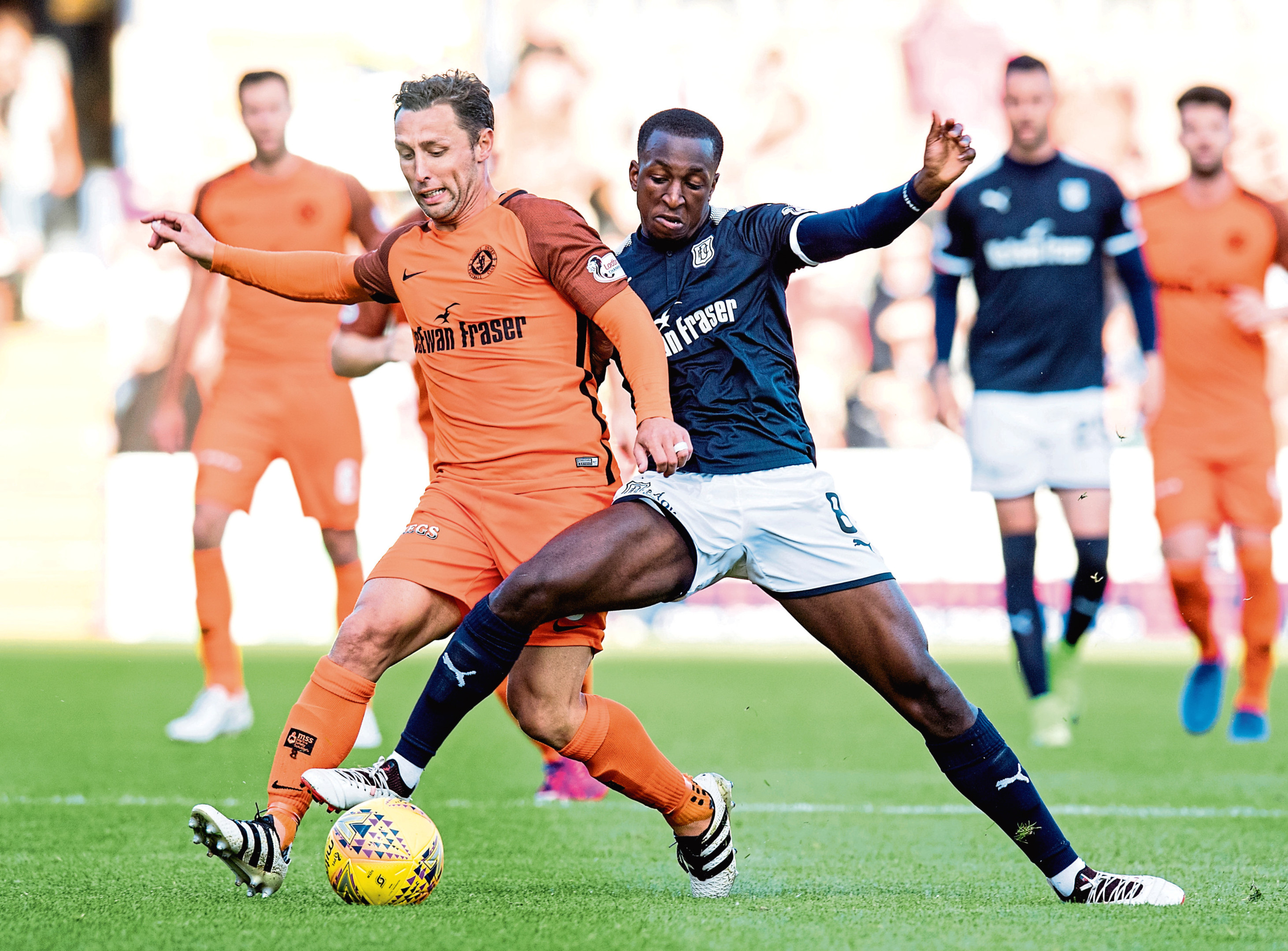 Dundee and Dundee United faced each other twice in the Betfred Cup last year.