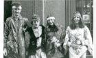 Hippie wedding in Dundee in 1970 B98 1970-02-00 Hippie wedding in Dundee in 1970 (C)DCT