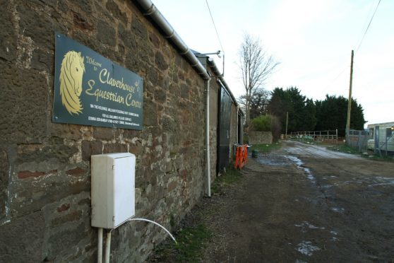 Claverhouse Equestrian Centre, where the incident is alleged to have taken place.