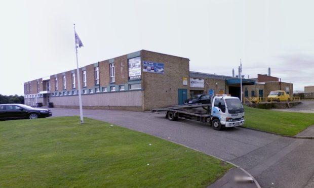 Halliburton's factory in Elliot Industrial Estate, Arbroath.