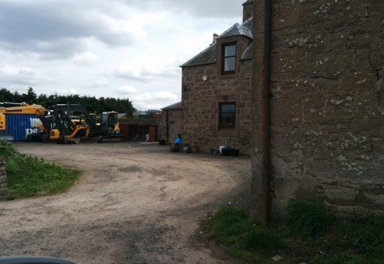 Mill of Peattie Farm Cottage, near Woodside.