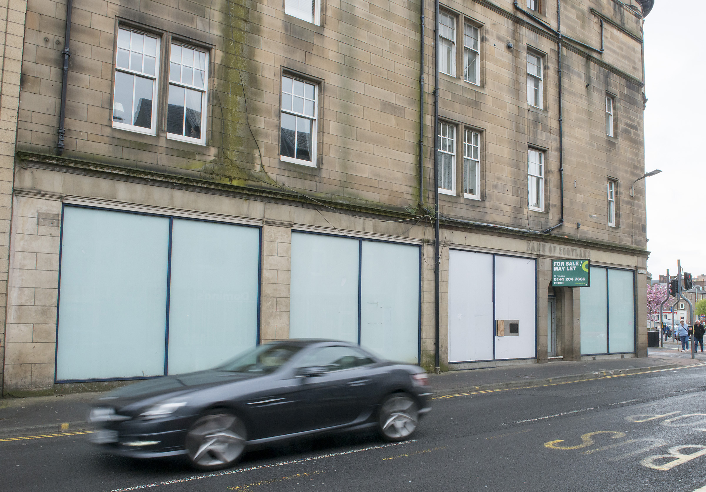 The former RBS branch on Perth's South Street