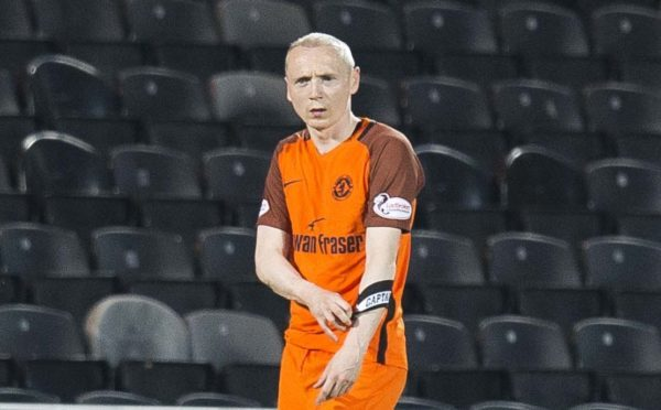 Willo Flood was Dundee United captain last season.