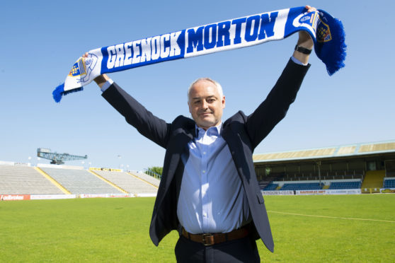 Ray McKinnon is unveiled as the new Morton boss