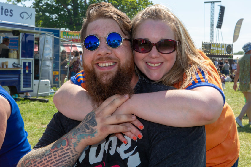 David (32) and Irene Paterson (35) from Dunfermline