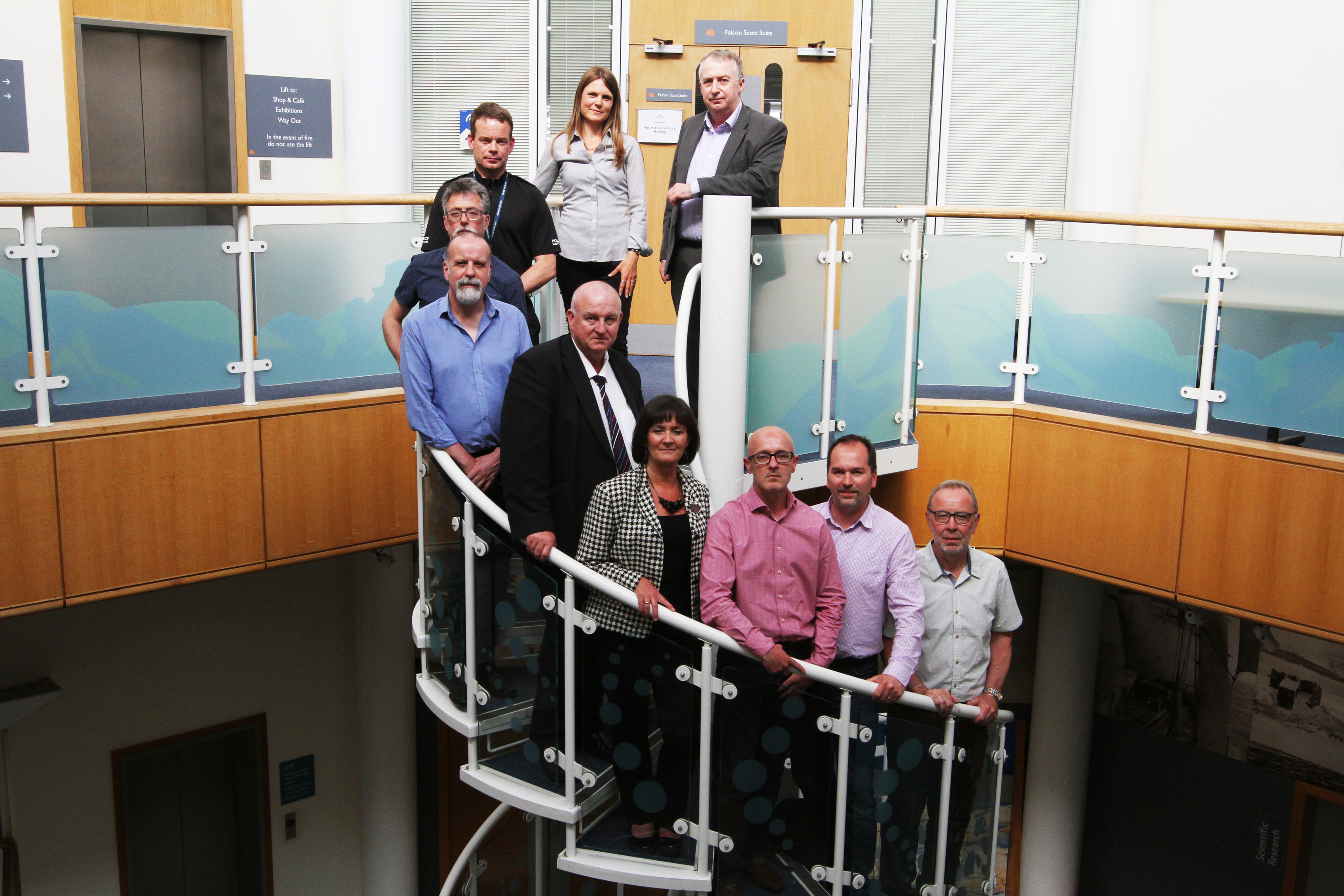 Members of the Dundee Drug Misuse Commission which was set up to tackle the city's increasing drugs problem.