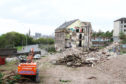Demolition of the Halley's Mill on Broughty Ferry Road