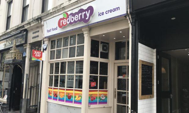 Redberry in Crichton Street.