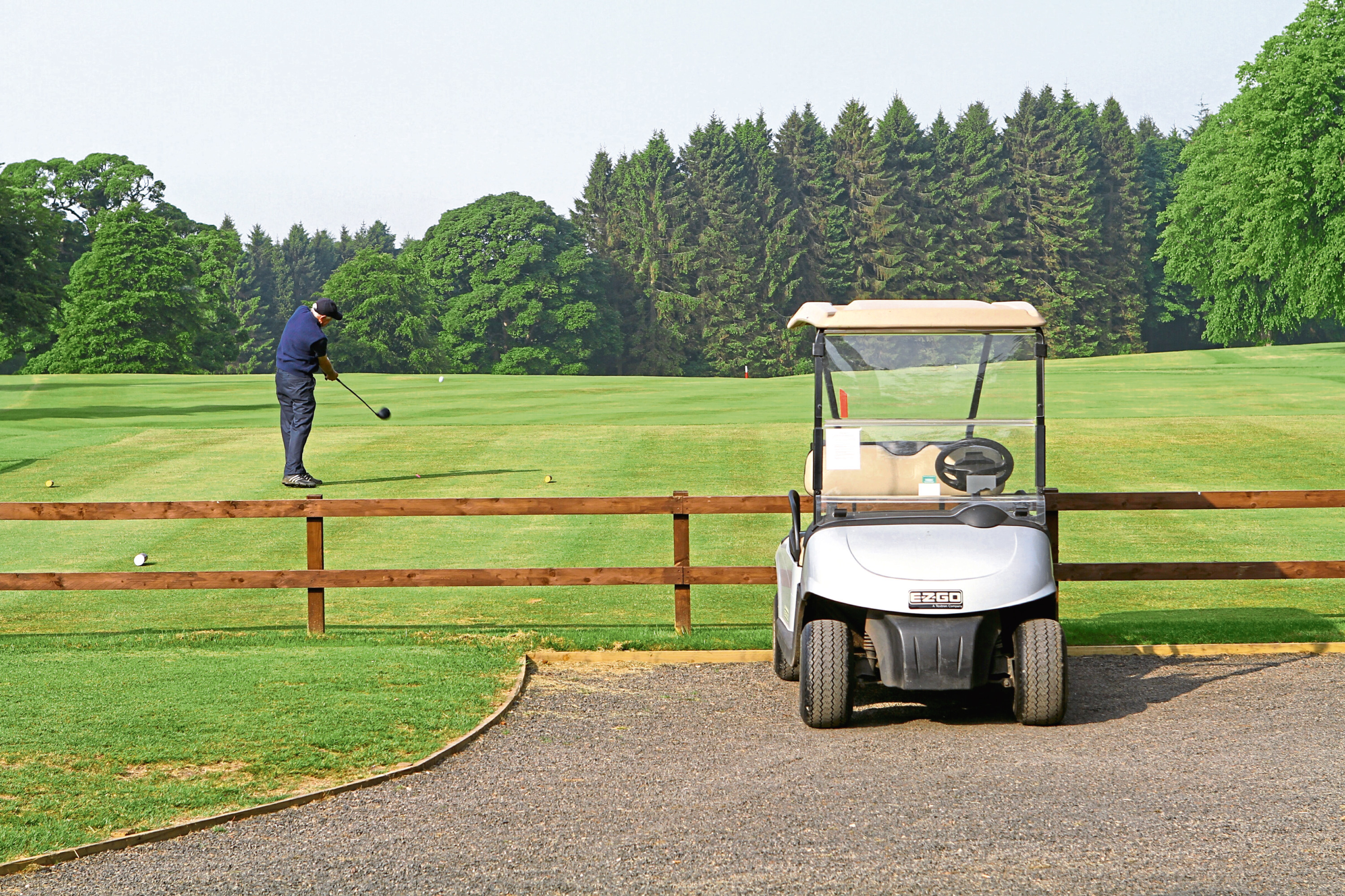 Camperdown Golf Course (stock image).