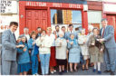 Back in the Day - Saturday 2 June 18 Hilltown Residents Celebrate Post Office. Photograph showing Hilltown residents celebrating saving the Hilltown Post Office from closure. 2 May 1991. H259 1991-05-02 Hilltown Residents Celebrate Post Office (C)DCT Dundonian. Used in Courier L/ED 3 May 1991.